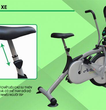 Yên xe đạp tập Air Bike