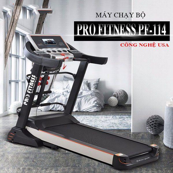 Máy chạy bộ Pro Fitness PF 114