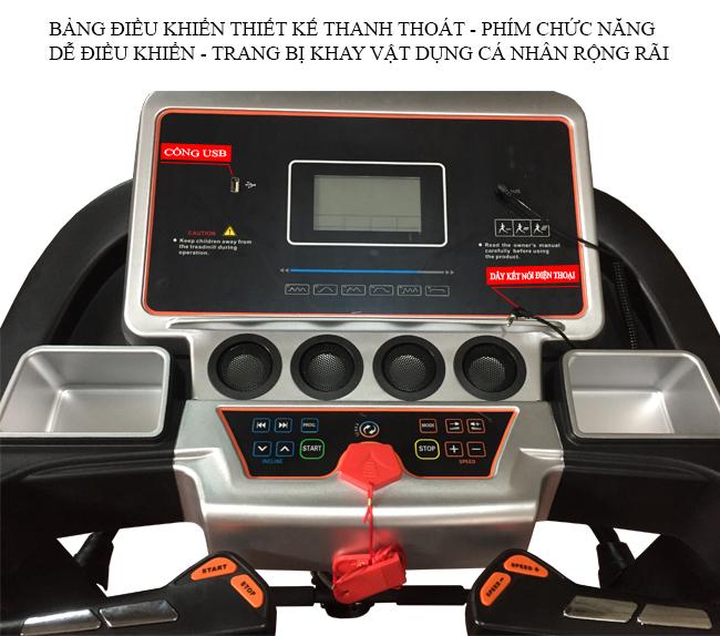 Màn hình hiển thị máy chạy bộ Pro Fitness PF-114
