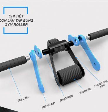 Chi tiết bánh xe tập bụng Gym Roller