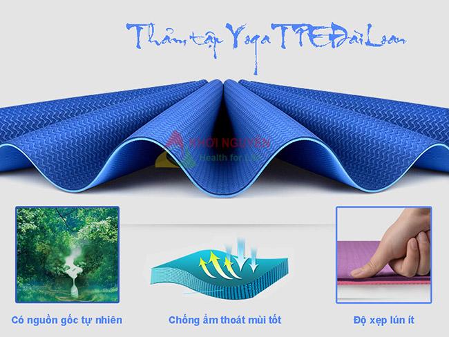 Thảm tập yoga TPE Đài Loan