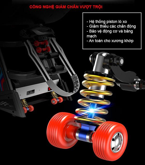 Máy chạy bộ Pro Fitness PF-113D - Máy chạy bộ gia đình