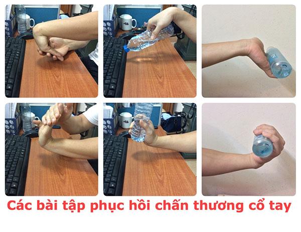 Bài tập hồi phục chấn thương cổ tay