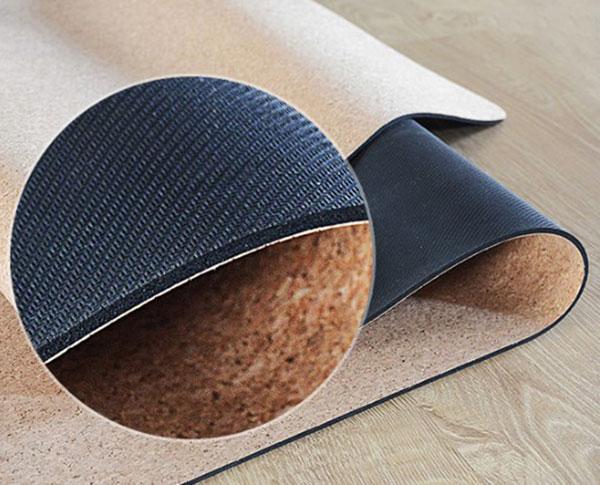 Thảm tập yogaCork làm từ vỏ sồi