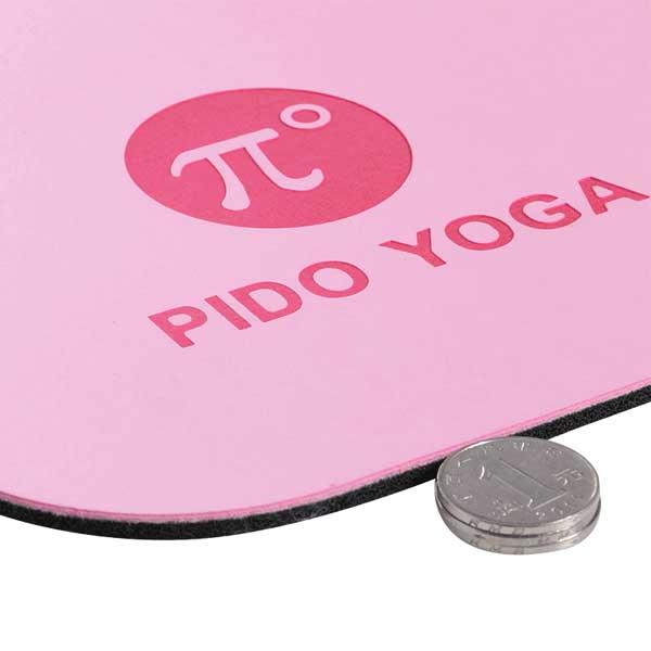 Độ dày thảm tập yoga Pido