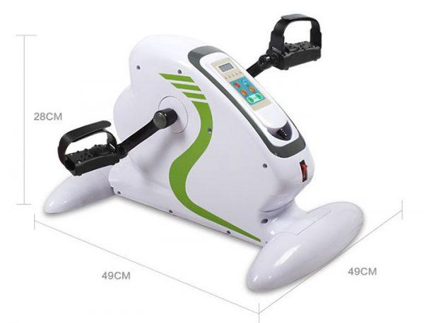 Kích thước lắp đặt xe đạp tập phục hồi chức năng WE3