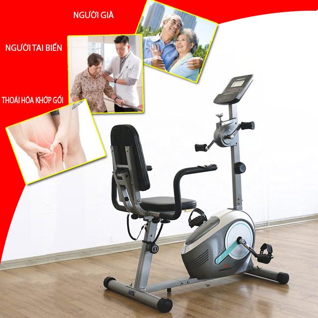 Xe đạp phục hồi chức năng cho người già