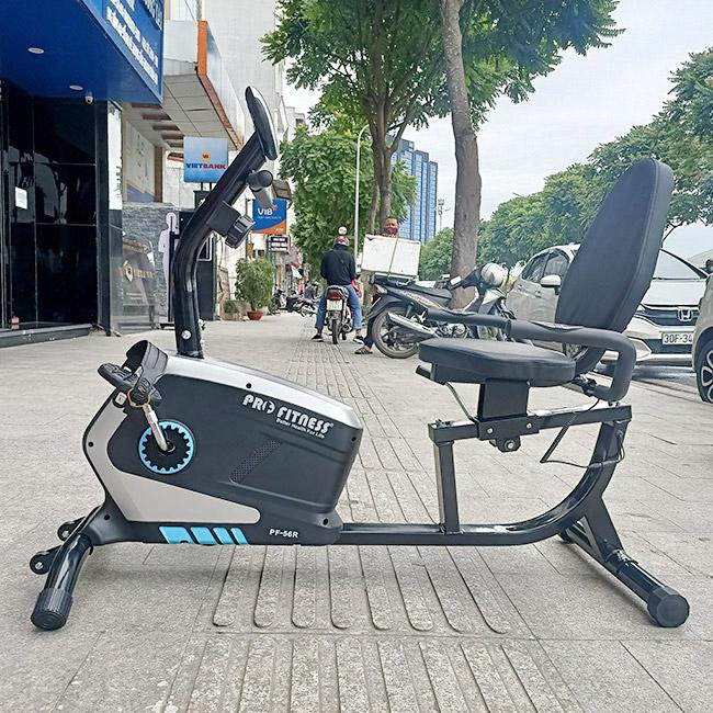 Xe đạp tập thể dục có tựa lưng cho người già