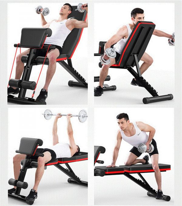 Bài tập với ghế tập gym đa năng P189