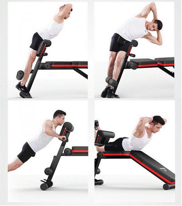 Bài tập với ghế tập gym P189