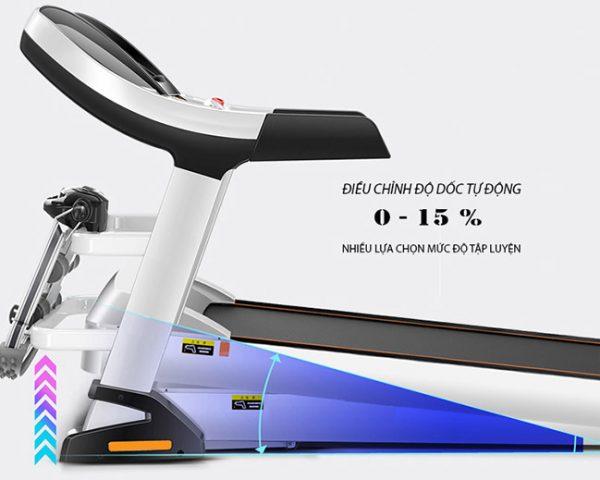 Độ dốc máy chạy bộ điện Hq 9600