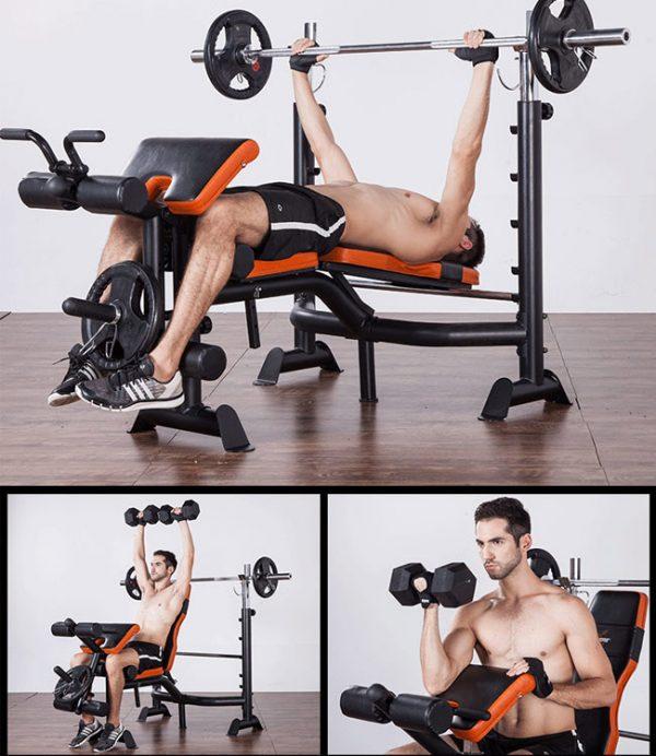 Bài tập với ghế tập gym GM 4380
