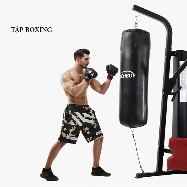 Tập boxing với Giàn tạ đa năng BP-806