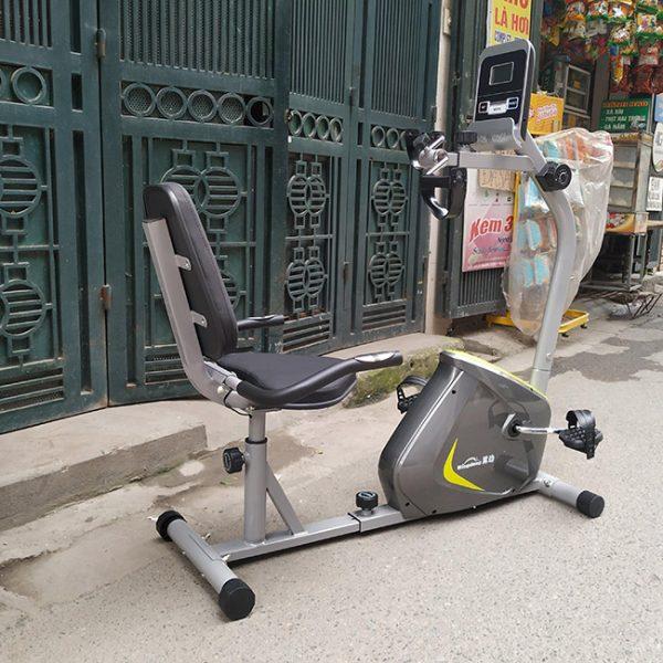 Ảnh thực tế xe đạp có tựa lưng YD 656