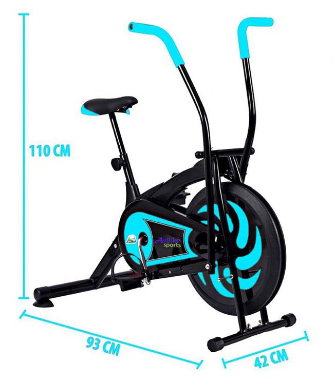 Kích thước lắp đặt xe đạp tập thể dục MK-109