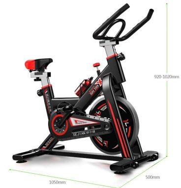 Kích thước lắp đặt xe dạp tập GH 709