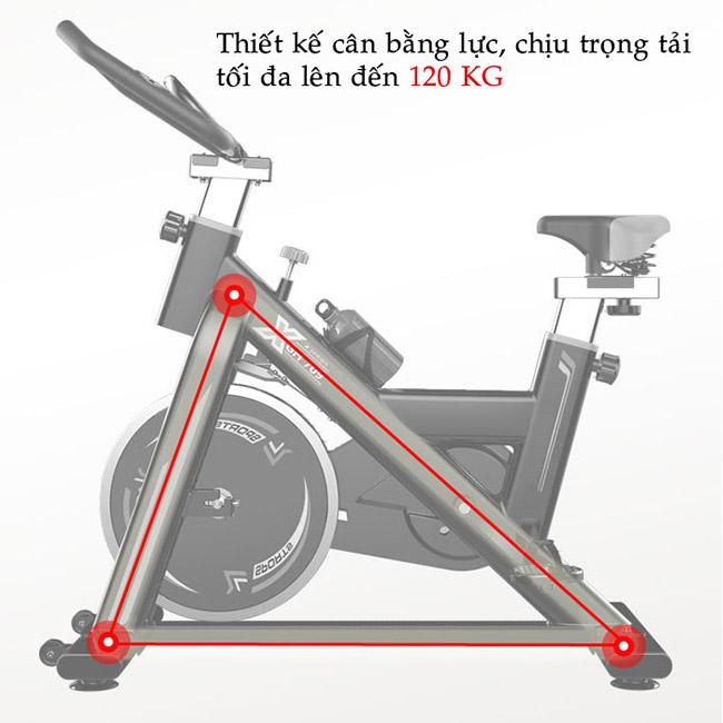 Thiết kế xe đạp tập GH-709