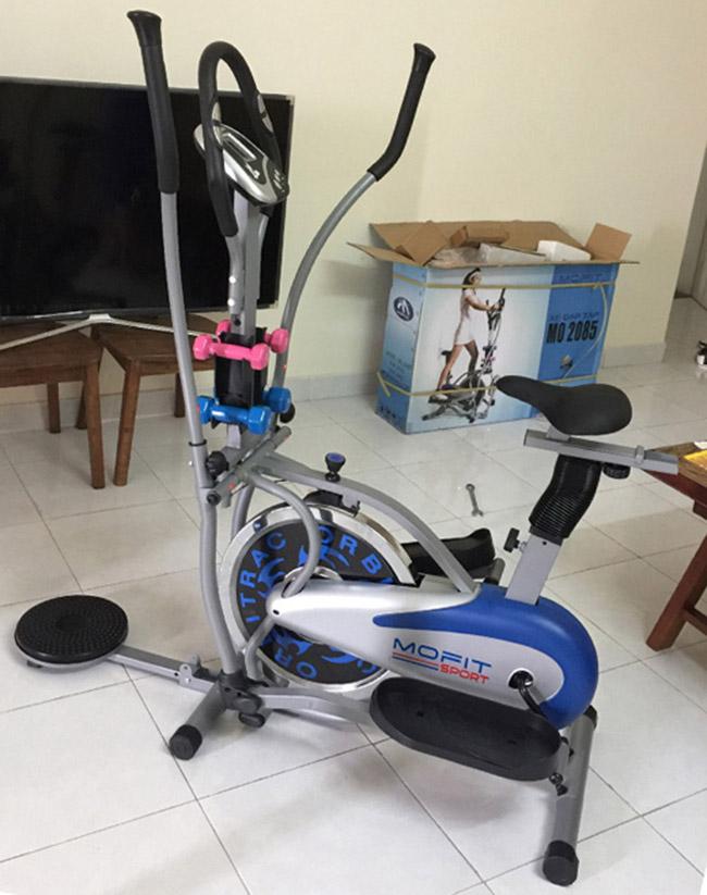 Hình ảnh thực tế xe đạp tập thể dục toàn thân MO-2085