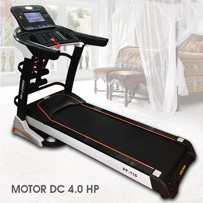 Máy chạy bộ điện Pro Fitness PF-116 giá 17.400.000đ