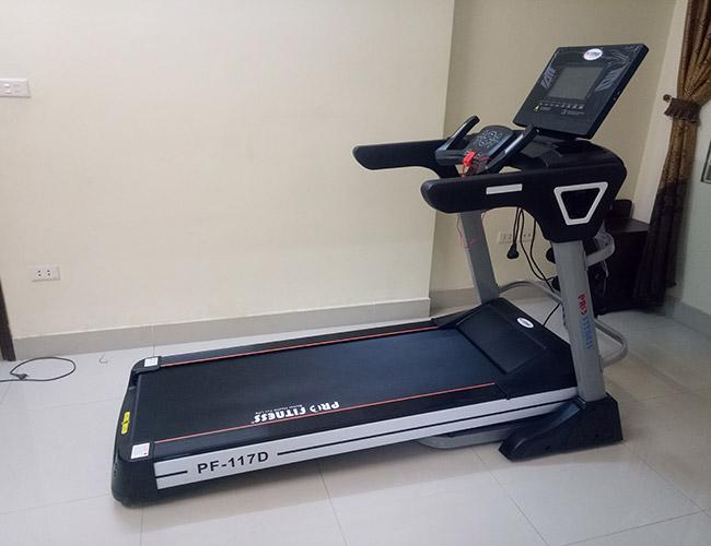 Máy chạy bộ điện Pro Fitness PF-117D giá 20.950.000đ