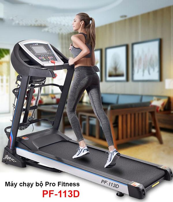 Máy chạy bộ Pro Fitness PF-113D giá 9.850.000đ