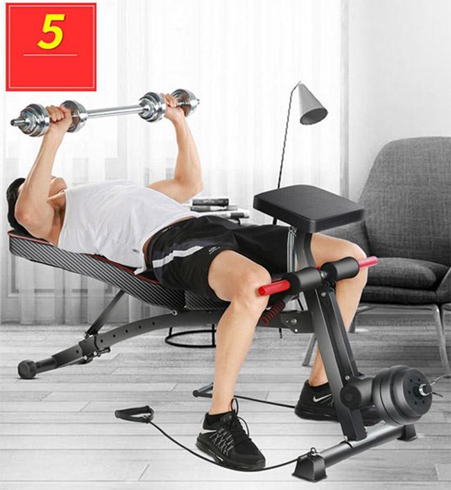 Tập đẩy tạ với ghế KK-021D