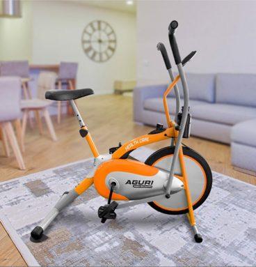 Ảnh thực tế xe đạp tập thể dục AGA 206 PA