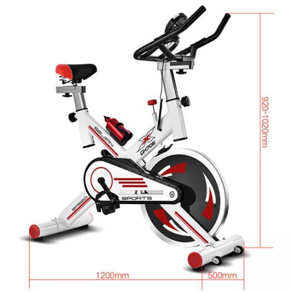 Kích thước lắp đặt xe đạp tập thể dục GH 706