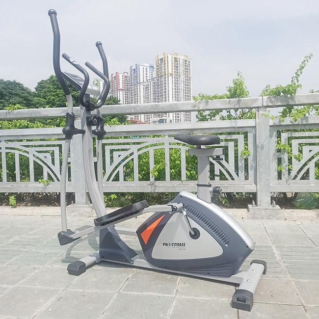 Hình ảnh thực tế xe đạp tập thể dục PRO 168