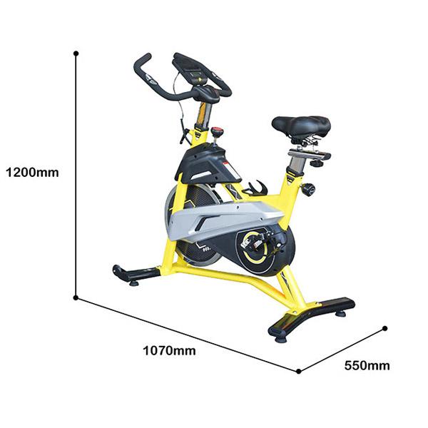 Kích thước lắp đặt xe đạp TK-007