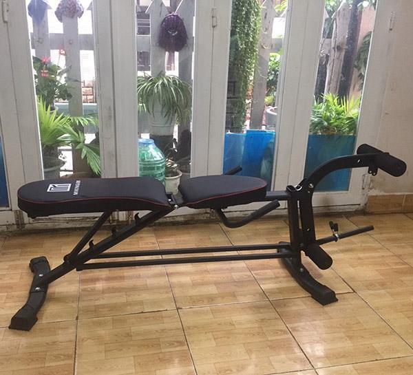 Hình ảnh thực tế ghế tập gym Miking MK-031