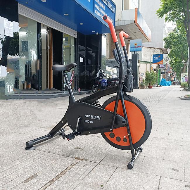 hình ảnh thực tế xe đạp tập thể dục Pro-06